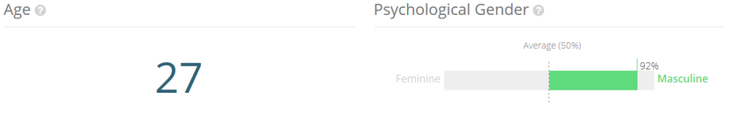Età e genere
